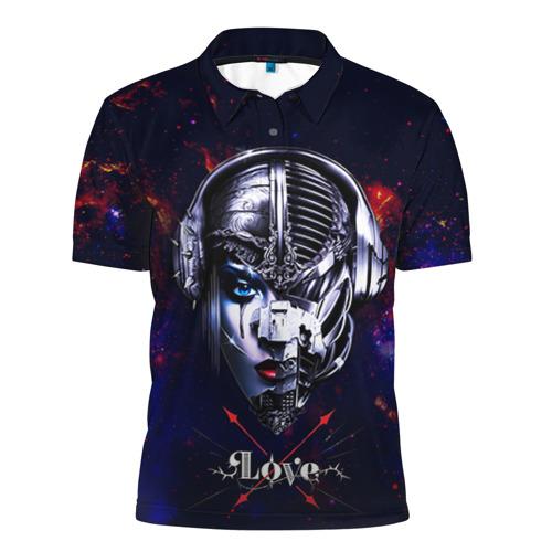 Мужская рубашка поло 3D Пиратская станция