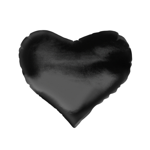 Подушка 3D сердце  Фото 02, Black Sun Empire