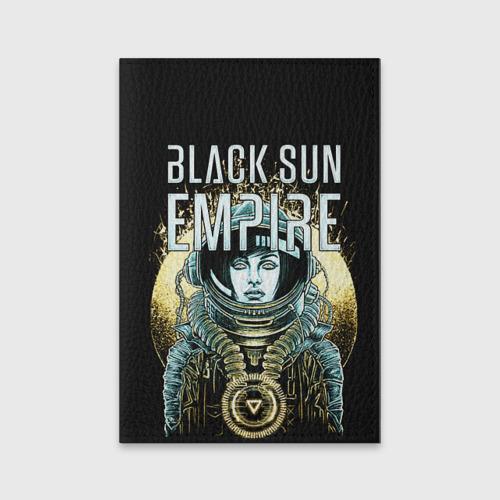 Обложка для паспорта матовая кожа  Фото 01, Black Sun Empire