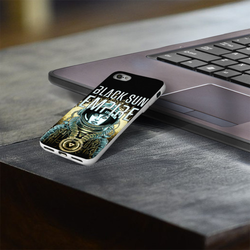 Чехол для Apple iPhone 8 силиконовый глянцевый  Фото 03, Black Sun Empire