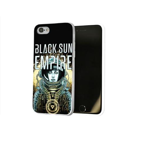 Чехол для Apple iPhone 8 силиконовый глянцевый  Фото 02, Black Sun Empire
