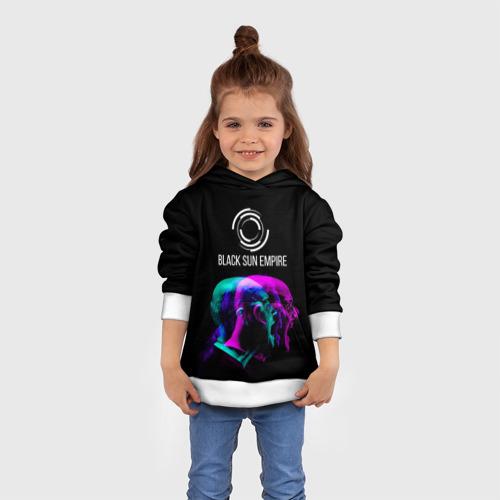 Детская толстовка 3D  Фото 01, Black Sun Empire