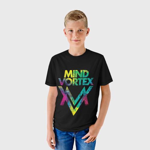 Детская футболка 3D  Фото 01, MIND VORTEX