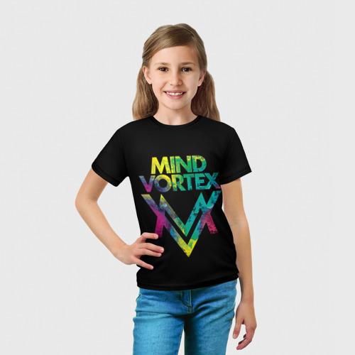 Детская футболка 3D  Фото 03, MIND VORTEX