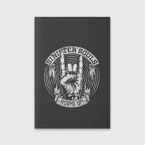 Обложка для паспорта матовая кожа  Фото 01, Sinister  Souls