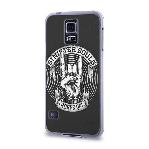 Чехол для Samsung Galaxy S5 силиконовый  Фото 03, Sinister  Souls