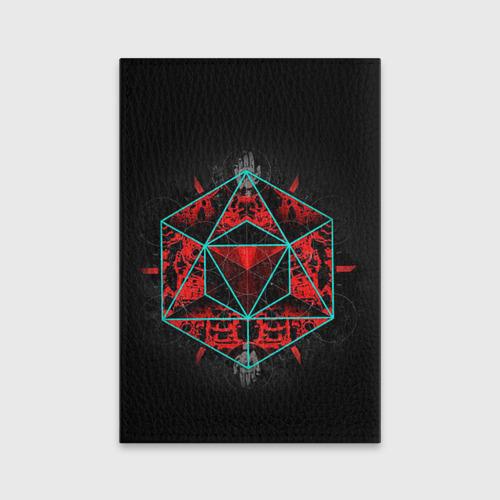 Обложка для паспорта матовая кожа  Фото 02, Sinister Souls