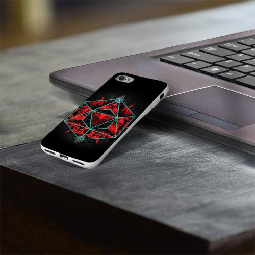 Чехол для Apple iPhone 8 силиконовый глянцевый  Фото 03, Sinister Souls