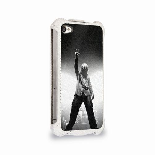 Чехол для Apple iPhone 4/4S flip  Фото 02, Slipknot