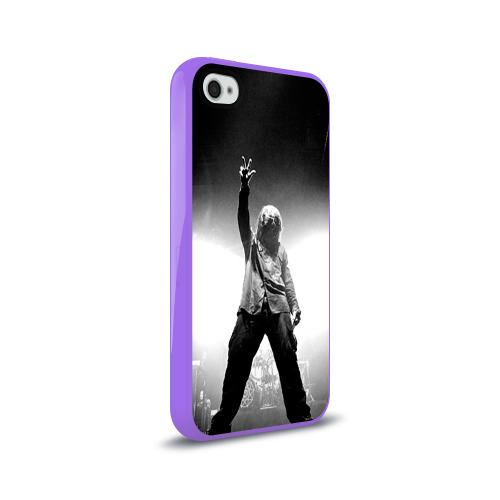 Чехол для Apple iPhone 4/4S силиконовый глянцевый  Фото 02, Slipknot
