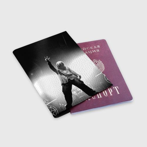 Обложка для паспорта матовая кожа  Фото 03, Slipknot
