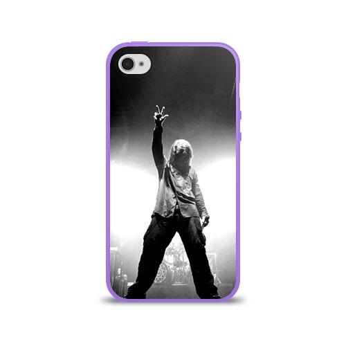 Чехол для Apple iPhone 4/4S силиконовый глянцевый  Фото 01, Slipknot