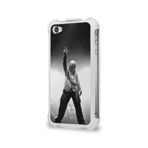 Чехол для Apple iPhone 4/4S flip  Фото 03, Slipknot
