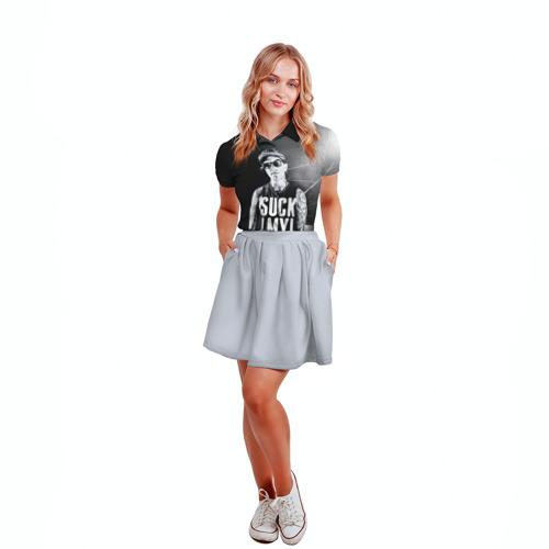 Женская рубашка поло 3D  Фото 04, Крис Фронзак