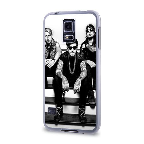 Чехол для Samsung Galaxy S5 силиконовый  Фото 03, Attila