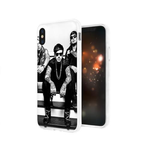 Чехол для Apple iPhone X силиконовый глянцевый  Фото 03, Attila