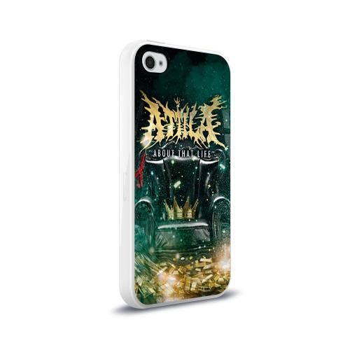 Чехол для Apple iPhone 4/4S силиконовый глянцевый  Фото 02, Attila