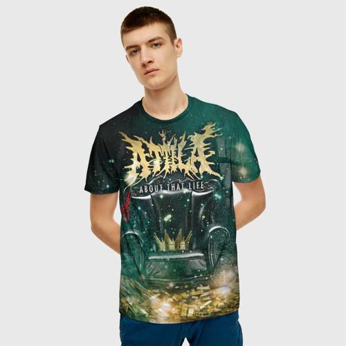 Мужская футболка 3D Attila Фото 01