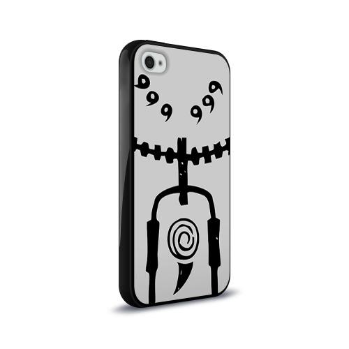 Чехол для Apple iPhone 4/4S силиконовый глянцевый  Фото 02, Naruto