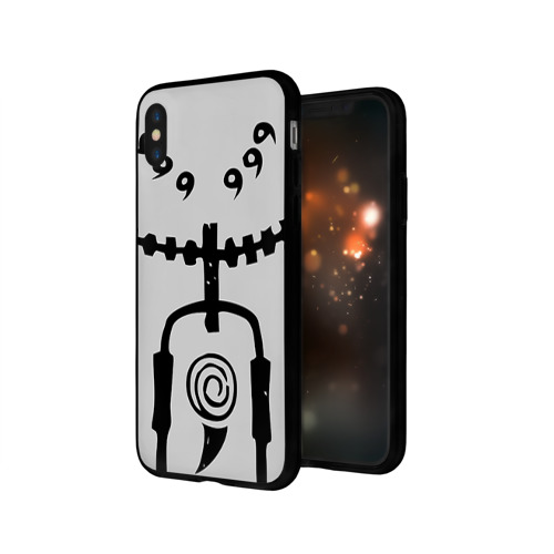 Чехол для Apple iPhone X силиконовый глянцевый Naruto Фото 01