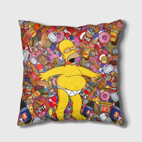 Подушка 3D Гомер от Всемайки