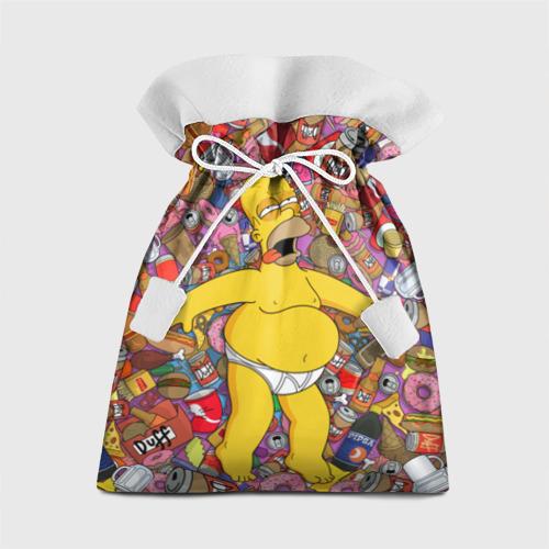 Подарочный 3D мешок Гомер