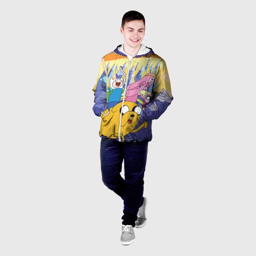 Мужская куртка 3D  Фото 03, Время приключений