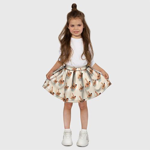 Детская юбка-солнце 3D  Фото 03, Ножки