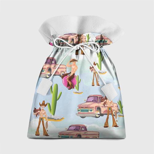 Подарочный 3D мешок Ковбой