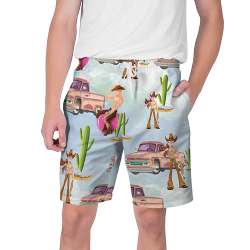 Мужские шорты 3D Ковбой