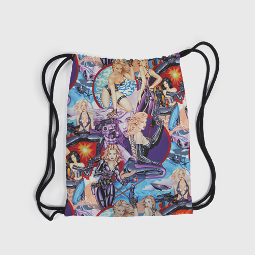 Рюкзак-мешок 3D Девушки Фото 01