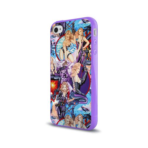 Чехол для Apple iPhone 4/4S силиконовый глянцевый  Фото 03, Девушки