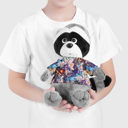 Енотик в футболке 3D  Фото 04, Девушки