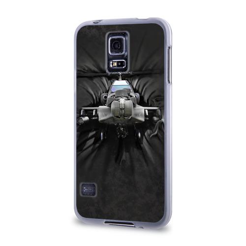 Чехол для Samsung Galaxy S5 силиконовый  Фото 03, Вертолет
