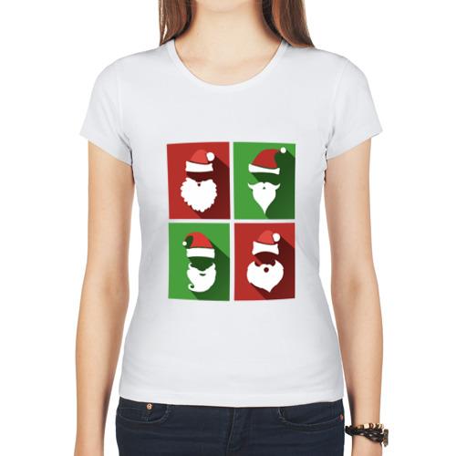 Женская футболка синтетическая Деды Морозы от Всемайки