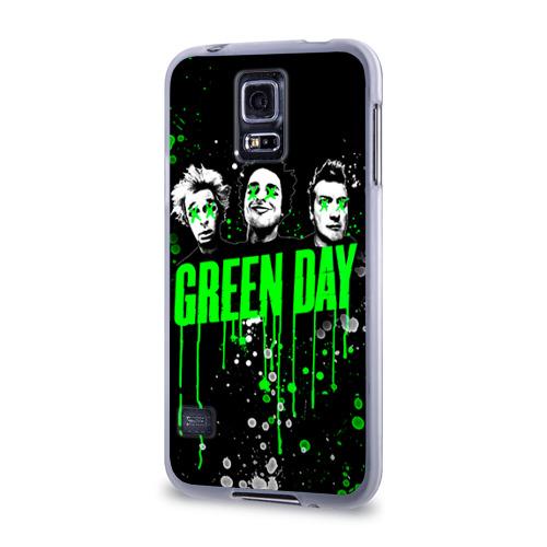 Чехол для Samsung Galaxy S5 силиконовый  Фото 03, Green Day