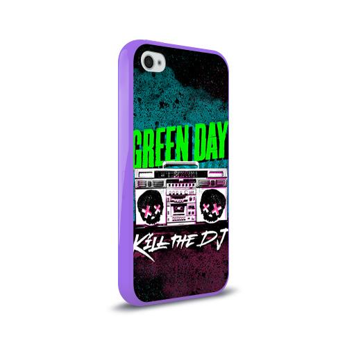 Чехол для Apple iPhone 4/4S силиконовый глянцевый Green Day Фото 01