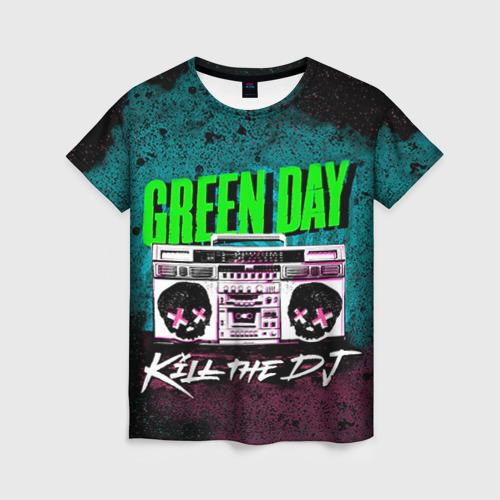 Женская футболка 3D Green Day от Всемайки