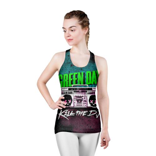 Женская майка 3D спортивная Green Day Фото 01