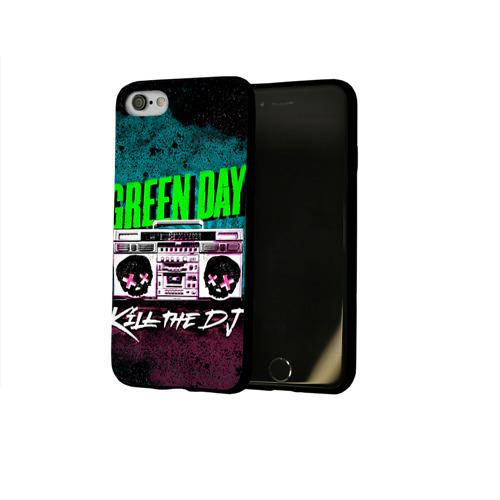 Чехол для Apple iPhone 8 силиконовый глянцевый Green Day Фото 01