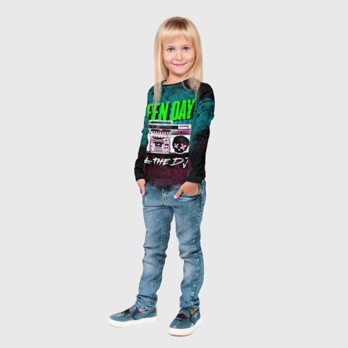 Детский лонгслив 3D Green Day Фото 01