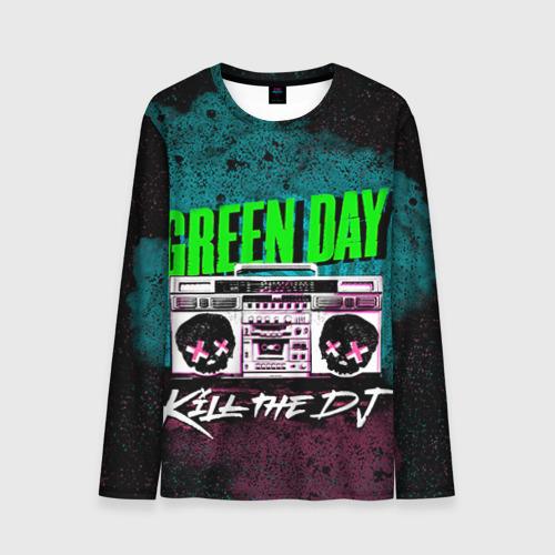 Мужской лонгслив 3D Green Day Фото 01