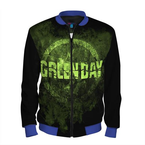 Мужской бомбер 3D Green Day