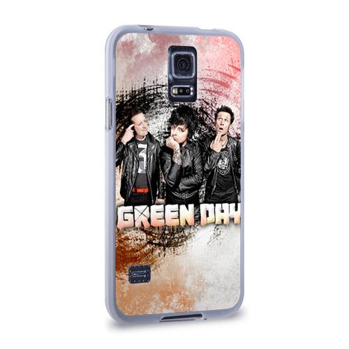 Чехол для Samsung Galaxy S5 силиконовый  Фото 02, Green Day