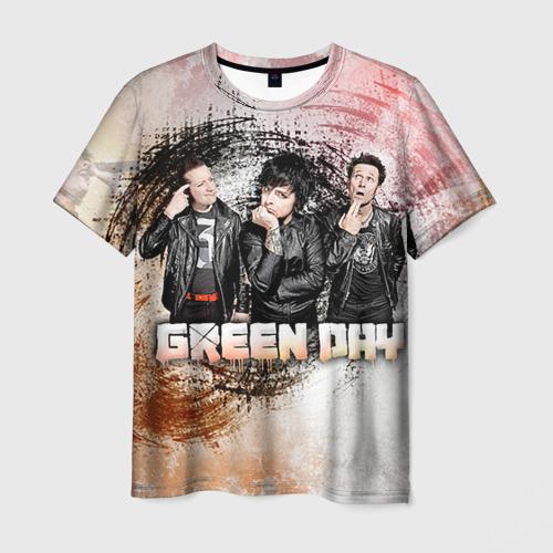 Мужская футболка 3D Green Day Фото 01