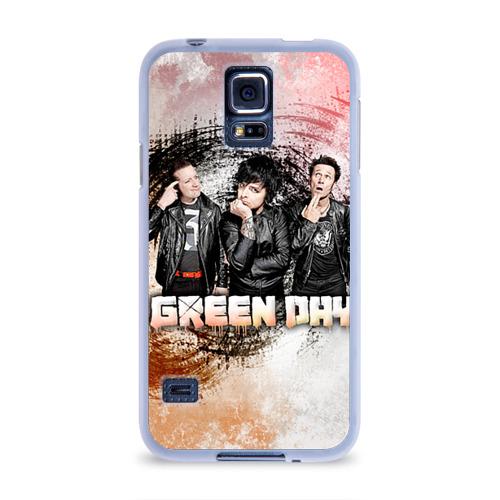 Чехол для Samsung Galaxy S5 силиконовый  Фото 01, Green Day