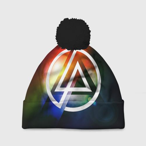 Шапка 3D c помпоном Linkin Park