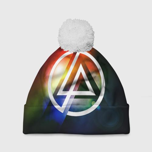 Шапка 3D c помпоном  Фото 01, Linkin Park