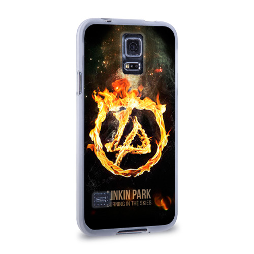 Чехол для Samsung Galaxy S5 силиконовый  Фото 02, Linkin Park