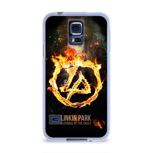 Чехол для Samsung Galaxy S5 силиконовый  Фото 01, Linkin Park